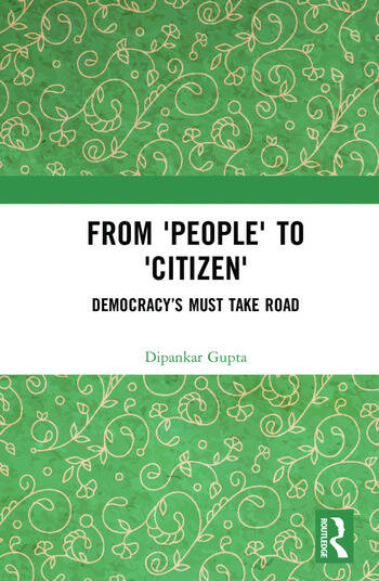 From 'People' to 'Citizen' Democracy's Must Take Road book cover