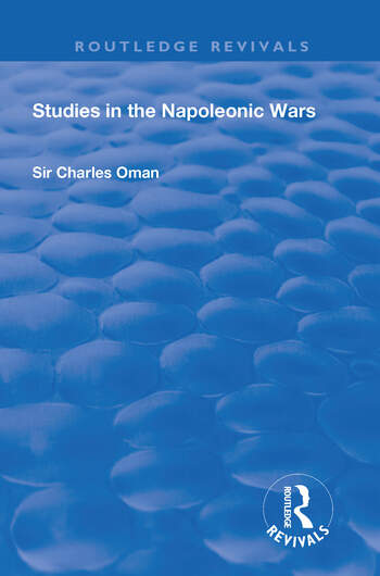 Revival: Studies in the Napoleonic Wars (1929) book cover