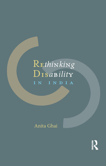 Rethinking Disability in India book cover