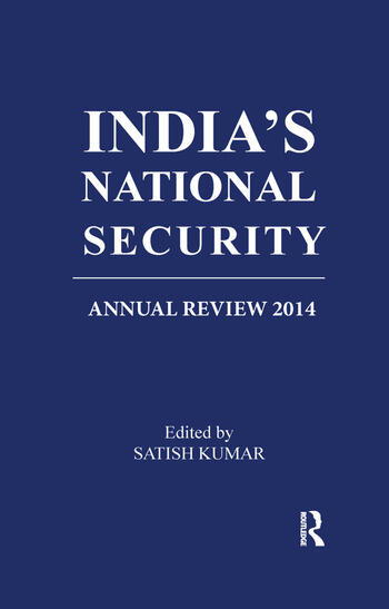 India's National Security Annual Review 2014 book cover