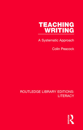 Teaching Writing A Systematic Approach book cover