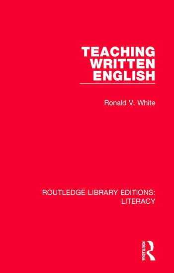 Teaching Written English book cover