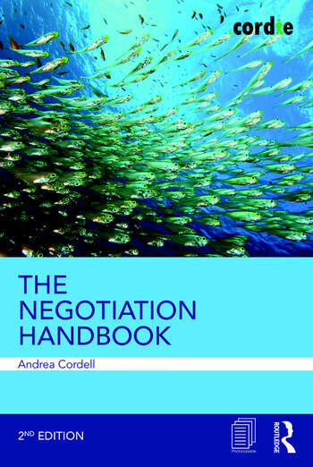 The Negotiation Handbook book cover