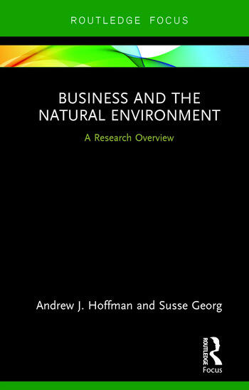 Business and the Natural Environment A Research Overview book cover