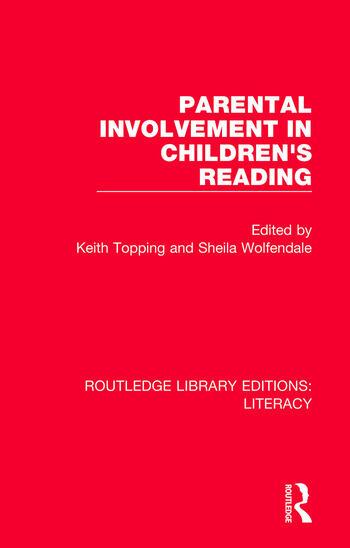 Parental Involvement in Children's Reading book cover