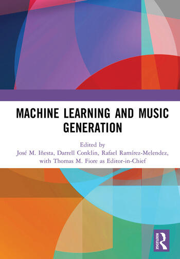 Machine Learning and Music Generation book cover