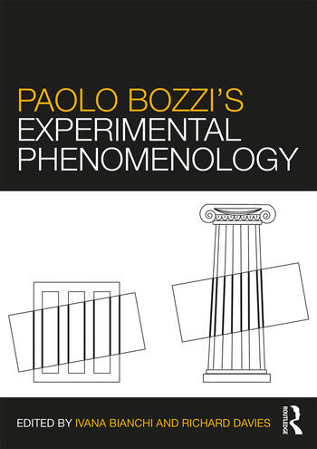 Paolo Bozzi's Experimental Phenomenology book cover