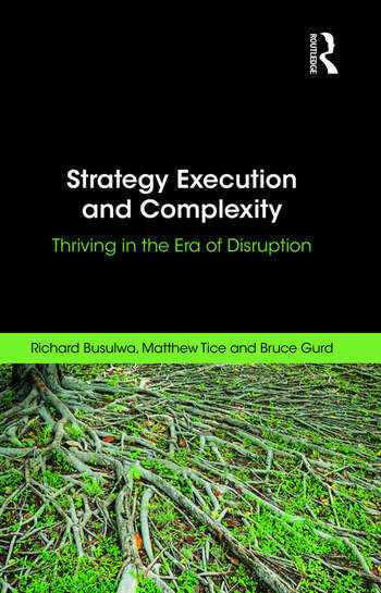 Strategy Execution and Complexity Thriving in the Era of Disruption book cover