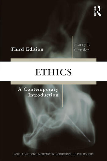 Ethics A Contemporary Introduction book cover
