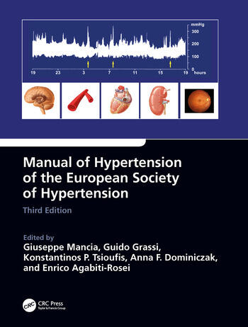 Manual of Hypertension of the European Society of Hypertension, Third Edition book cover