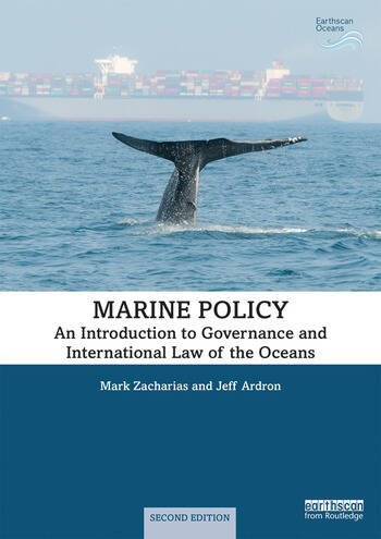 Marine Policy An Introduction to Governance and International Law of the Oceans book cover