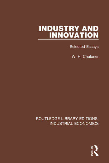 Industry and Innovation Selected Essays book cover