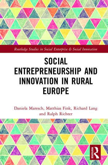 Social Entrepreneurship and Innovation in Rural Europe book cover