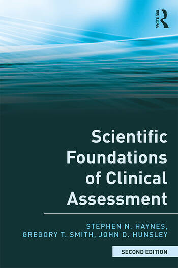 Scientific Foundations of Clinical Assessment book cover