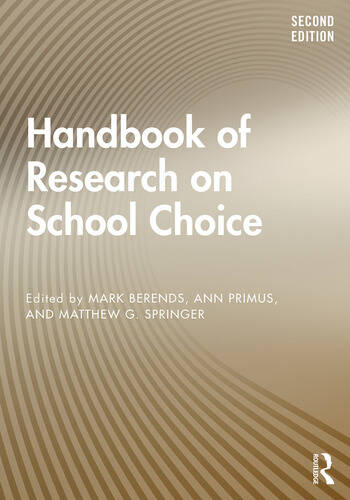 Handbook of Research on School Choice book cover