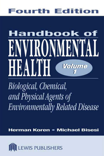 Handbook of Environmental Health, Two Volume Set book cover