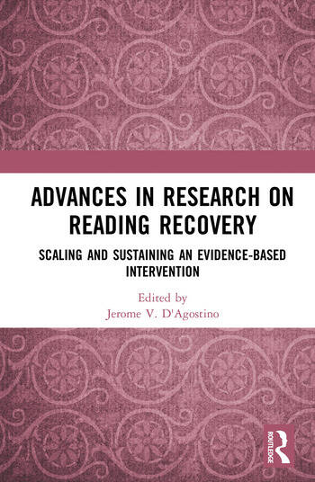 Advances in Research on Reading Recovery Scaling and Sustaining an Evidence-Based Intervention book cover