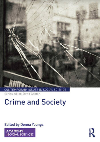 Crime and Society book cover