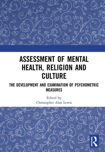 Assessment of Mental Health, Religion and Culture The Development and Examination of Psychometric Measures book cover