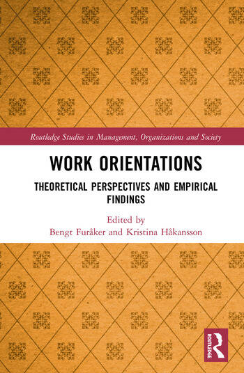Work Orientations Theoretical Perspectives and Empirical Findings book cover