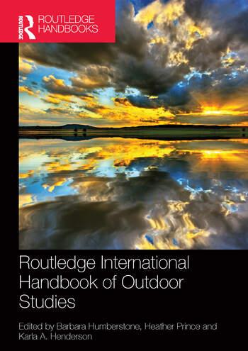 Routledge International Handbook of Outdoor Studies book cover