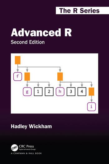Advanced R, Second Edition book cover