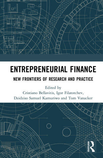 Entrepreneurial Finance New Frontiers of Research and Practice book cover