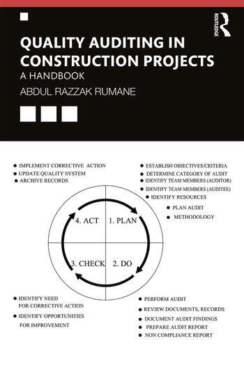 Quality Auditing in Construction Projects A Handbook book cover