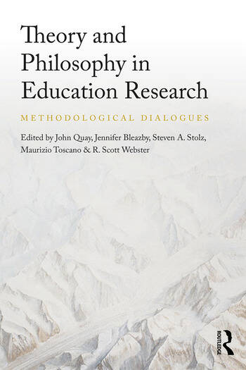 Theory and Philosophy in Education Research Methodological Dialogues book cover