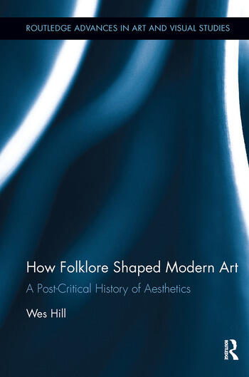 How Folklore Shaped Modern Art A Post-Critical History of Aesthetics book cover