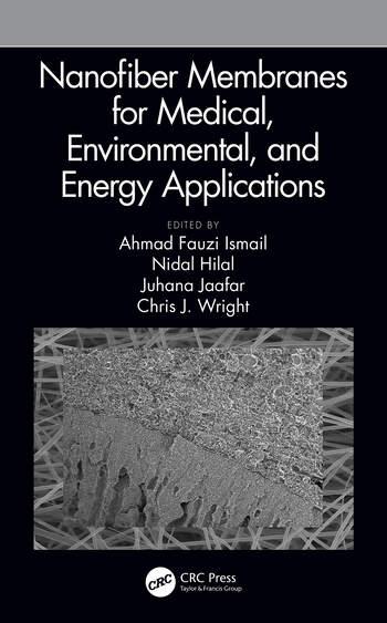 Nanofiber Membranes for Medical, Environmental, and Energy Applications book cover