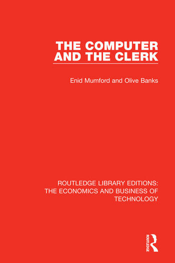 The Computer and the Clerk book cover