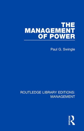 The Management of Power book cover