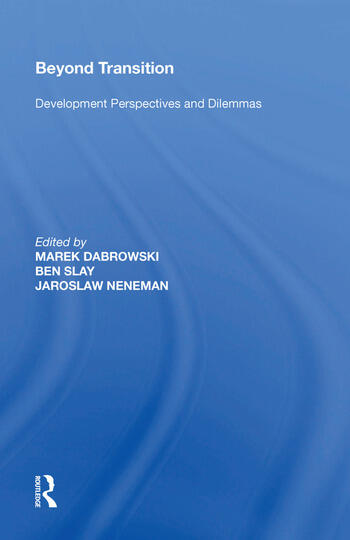 Beyond Transition Development Perspectives and Dilemmas book cover