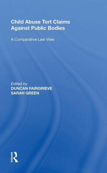 Child Abuse Tort Claims Against Public Bodies A Comparative Law View book cover
