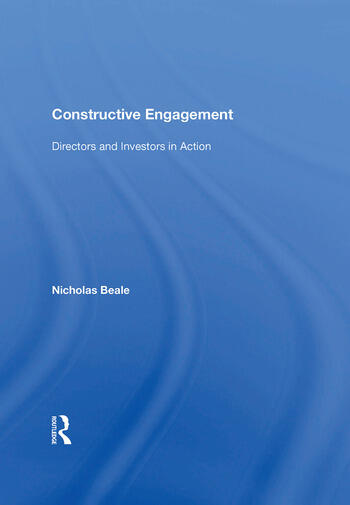 Constructive Engagement Directors and Investors in Action book cover