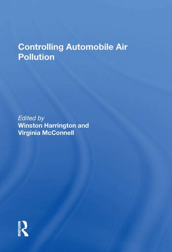Controlling Automobile Air Pollution book cover