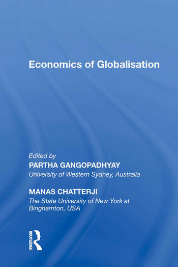 Economics of Globalisation book cover