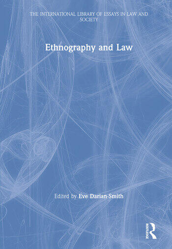 Ethnography and Law book cover