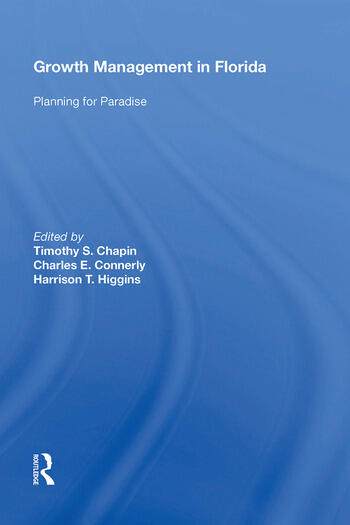 Growth Management in Florida Planning for Paradise book cover