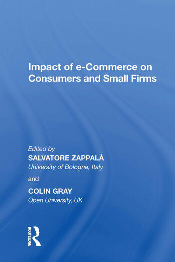 Impact of e-Commerce on Consumers and Small Firms book cover