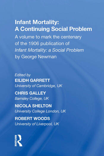 Infant Mortality: A Continuing Social Problem book cover