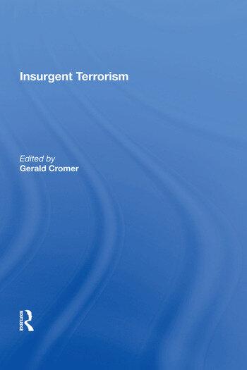 Insurgent Terrorism book cover