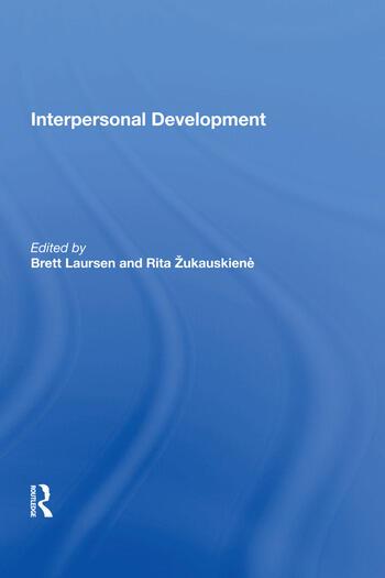 Interpersonal Development book cover