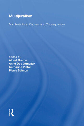 Multijuralism Manifestations, Causes, and Consequences book cover