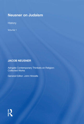 Neusner on Judaism Volume 1: History book cover