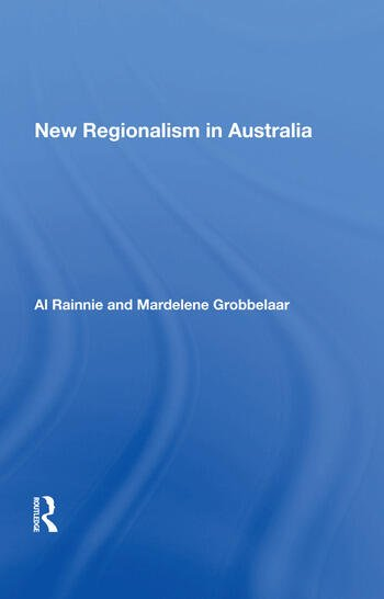 New Regionalism in Australia book cover