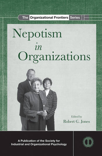 Nepotism in Organizations book cover