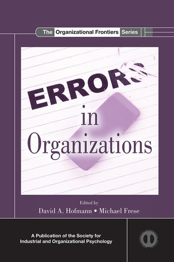 Errors in Organizations book cover