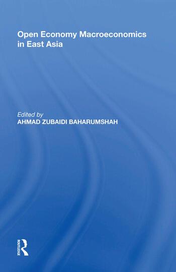 Open Economy Macroeconomics in East Asia book cover